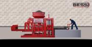 Полуавтоматический станок для изготовление стеновых блоков по выгодной